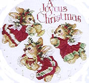 Click for more details of Christmas (cross-stitch pattern) by Donna Vermillion