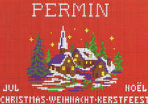 Click for more details of Christmas (cross stitch) by Permin of Copenhagen