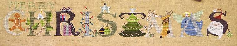 Click for more details of Christmas (cross stitch) by The Cross-Eyed Cricket