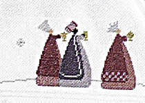 Click for more details of Christmas Dream (cross-stitch pattern) by Rico Design