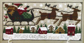 Click for more details of Christmas Eve (cross-stitch pattern) by The Prairie Schooler