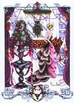 Click for more details of Christmas in London (cross-stitch) by Mirabilia Designs