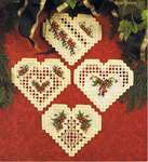 Click for more details of Christmas in my Heart (2002-2005) (hardanger) by Cross 'N Patch
