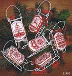 Click for more details of Christmas in Red (cross stitch) by Sue Hillis Designs