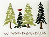 Click for more details of Christmas in the Pines (cross stitch) by Stoney Creek