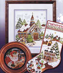 Click for more details of Christmas in the Village (cross stitch) by Stoney Creek