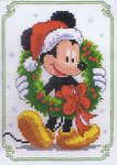 Click for more details of Christmas Mickey (cross-stitch kit) by Disney by Vervaco