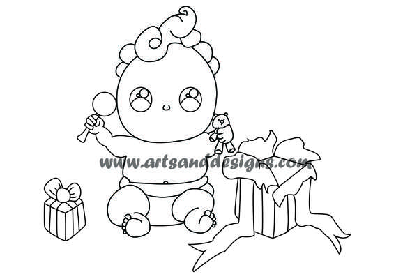 Click for more details of Christmas Morning Digistamp (digital downloads) by Julie Lynes