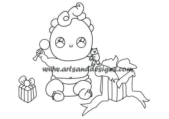 Click for more details of Christmas Morning Digistamp (digital downloads) by Julie Lynes