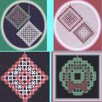 Click for more details of Christmas Ornaments (hardanger) by A Stitch in Time