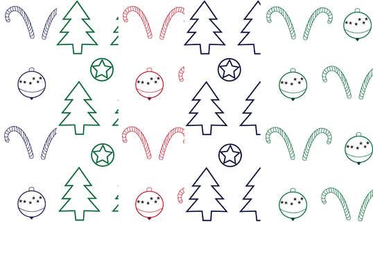 Click for more details of Christmas Outline Digital Papers (digital downloads) by Julie Lynes