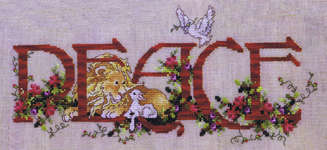 Click for more details of Christmas Peace (cross stitch) by Stoney Creek