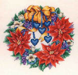 Click for more details of Christmas Poinsettia (cross-stitch pattern) by Bobbie G. Designs