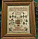 Click for more details of Christmas Rose (cross stitch) by Blackbird Designs