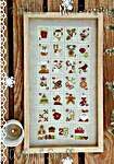 Click for more details of Christmas Stamps (cross stitch) by Madame Chantilly