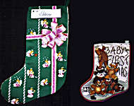 Click for more details of Christmas Stockings (cross-stitch pattern) by X's & Oh's