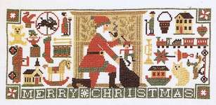 Click for more details of Christmas Traditions (cross stitch) by The Prairie Schooler
