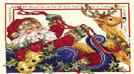Click for more details of Christmas Trays (cross-stitch pattern) by Donna Vermillion