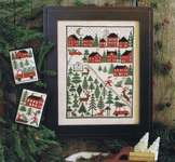 Click for more details of Christmas Tree Farm (cross stitch) by The Prairie Schooler
