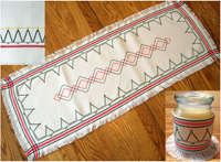 Click for more details of Christmas Trees (swedish weaving pattern) by Swedish Weave Designs