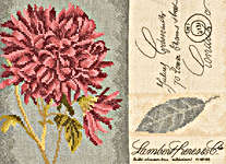 Click for more details of Chrysanthemum (cross-stitch kit) by Lanarte
