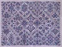 Click for more details of Cirque des Carreaux (cross-stitch pattern) by Glendon Place