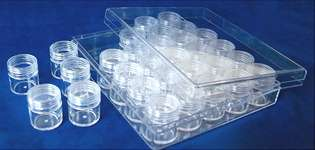 Click for more details of Clear Storage Bead Boxes (tools) by Siesta Frames