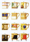 Click for more details of Coffee Cups (cross-stitch kit) by Thea Gouverneur