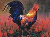 Click for more details of Colourful Rooster (cross stitch) by Kustom Krafts
