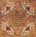 Click for more details of Come said the Wind  (cross-stitch pattern) by Glendon Place