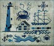 Click for more details of Comfort Lighthouse (cross stitch) by Carriage House Samplings