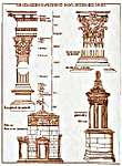 Click for more details of Corinthian Columns (cross-stitch) by Thea Gouverneur