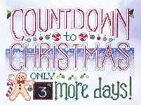 Click for more details of Countdown to Christmas (cross stitch) by Stoney Creek