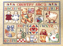 cross stitch pictures of country ro