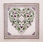 Click for more details of Country French Heart (cross stitch) by The Sweetheart Tree
