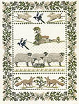 Click for more details of Country Life Sampler (cross-stitch kit) by Rose Swalwell