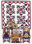 Click for more details of Country Quilts & Dolls (cross-stitch pattern) by Jeremiah Junction