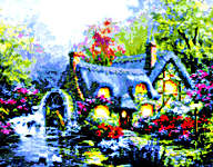 Click for more details of Country Retreat (cross-stitch pattern) by Kustom Krafts