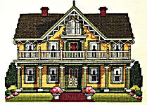 Click for more details of Country Victorian Cottage (cross-stitch pattern) by Nancy Spruance