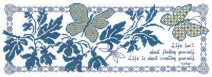 Click for more details of Creating Yourself (blackwork pattern) by Imaginating