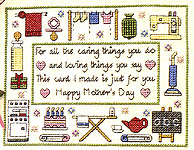 Click for more details of Cross Stitch Cards and Keepsakes (hardback) by Jo Verso