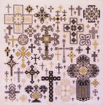 Click for more details of Crosses of the Kingdom (cross stitch) by Rosewood Manor
