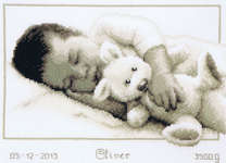 Click for more details of Cuddling (cross-stitch) by Vervaco