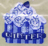 Click for more details of Cupcake Celebration Winter (cross stitch) by The Stitchworks
