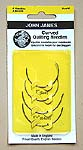 Click for more details of Curved Quilting Needles (needles) by John James Needles