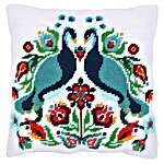Click for more details of Cushion: Pauline (tapestry) by Vervaco