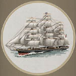 Click for more details of Cutty Sark (cross stitch) by Dave Shaw
