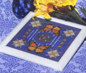 Click for more details of Dance of the Butterflies (cross stitch) by Ship's Manor
