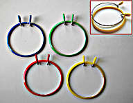 Click for more details of Darning Rings (hoops and sewing frames) by Rico Design