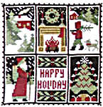 Click for more details of December (cross stitch) by The Prairie Schooler